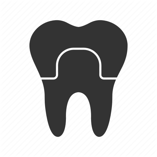 Crown, Dental, Implant, Restoration, Teeth, Tooth, Treatment Icon