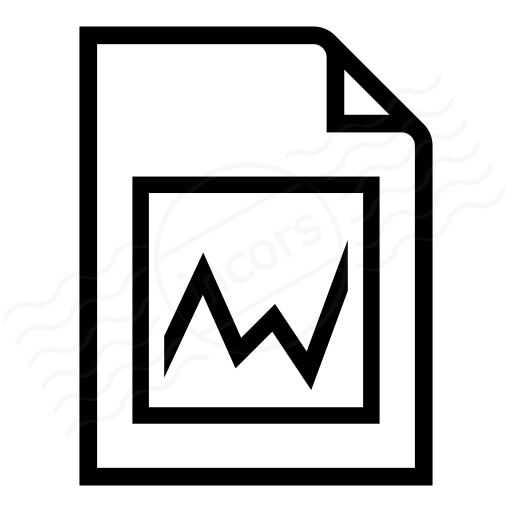 Iconexperience I Collection Document Chart Icon