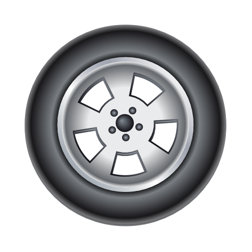 Tire, Wheel Icon Free Of Car And Services Icons