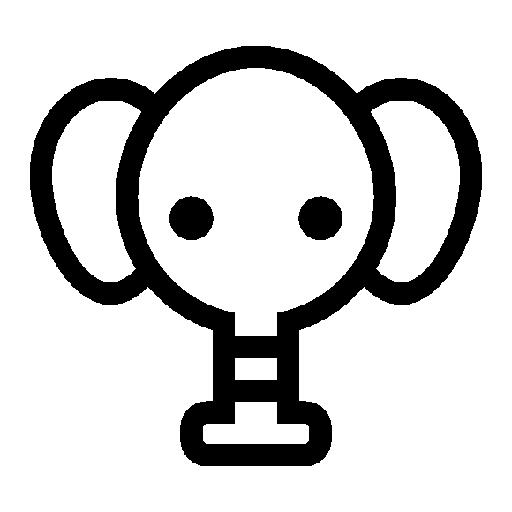Toy Elephant Icon Free Icons Download
