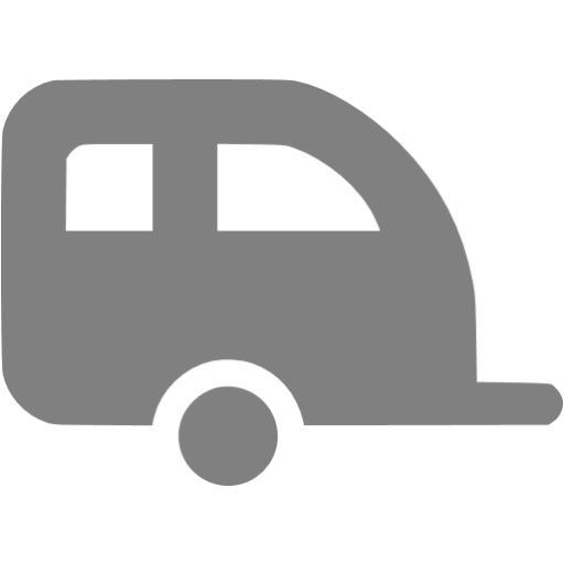 Gray Trailer Icon