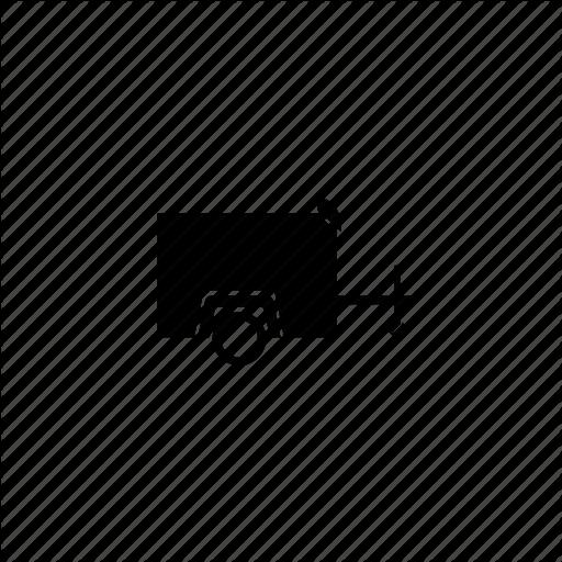 Trailer, Vehicle Icon