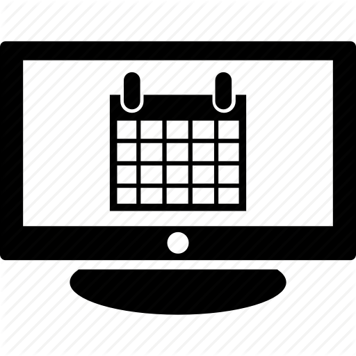 Calendar, Schedule, Smart, Tv Icon