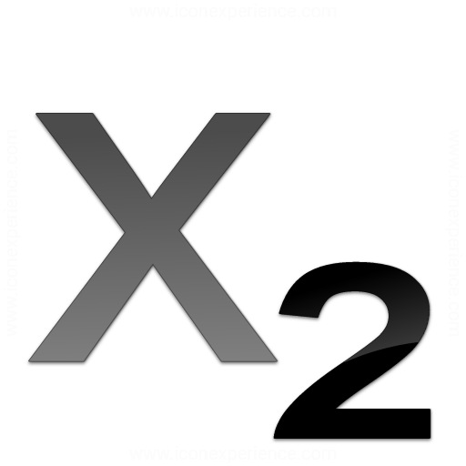 Iconexperience V Collection Text Subscript Icon