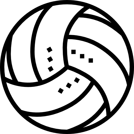 Volleyball, Ball, Sport Icon
