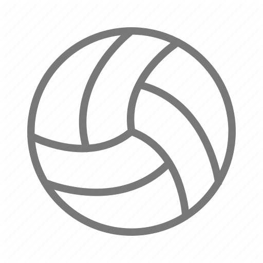 Ball, Serve, Set, Spike, Sport, Team, Volleyball Icon