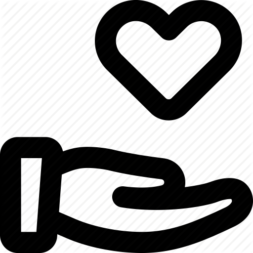 Charity, Donation, Give Love, Heart, Volunteer Icon
