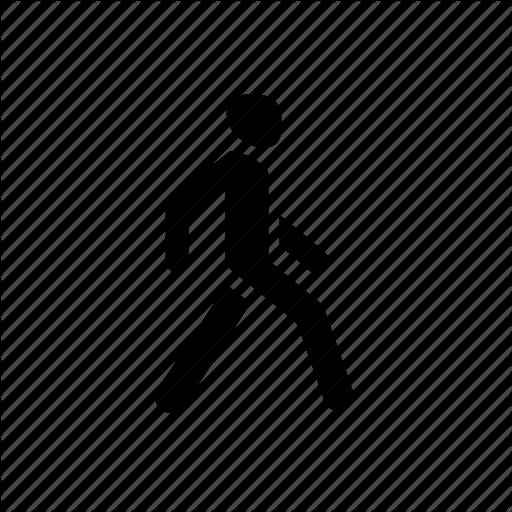 Go, Man, Pedestrian, People, Walk, Walking Icon