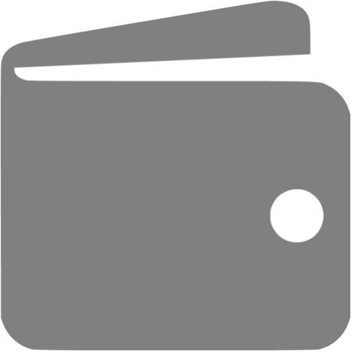 Gray Wallet Icon