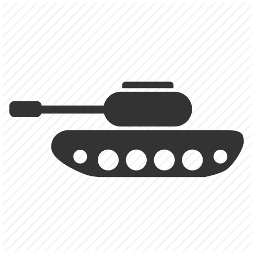 Vector Tank Military Icon Transparent Png Clipart Free Download