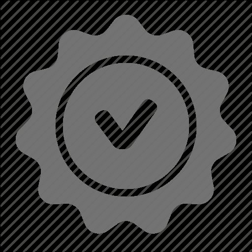 Check, Label, Quality, Seal, Tag, Verify, Warranty Icon