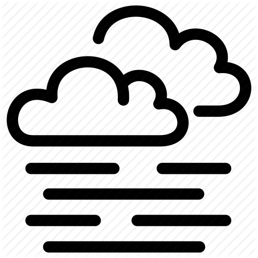 Climate Clouds Fog Forecast Prediction Weather Icon