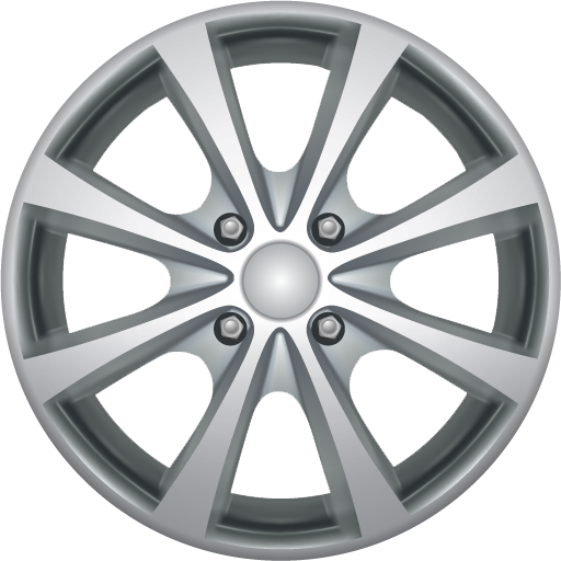 Icon Wheels Symbol