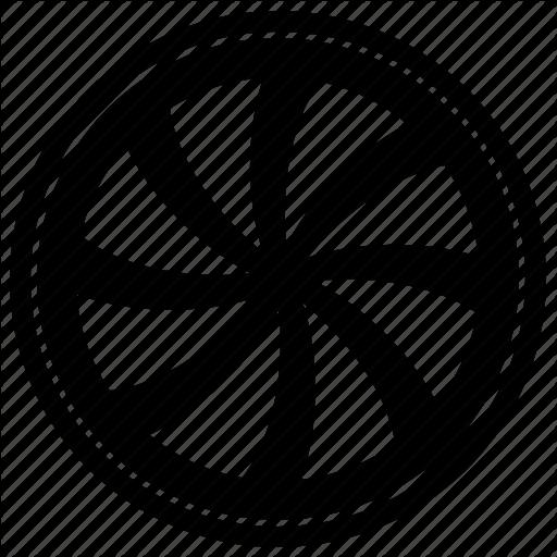 Auto, Car, Design, Tuning, Wheel Icon