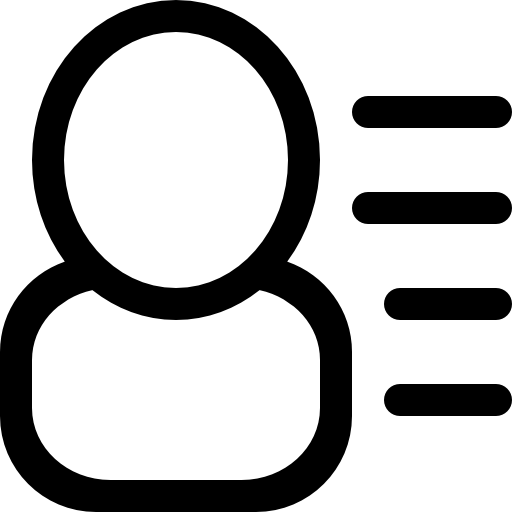 User, Info, Interface, Symbol, With, Text, Lines, At, Right, Side