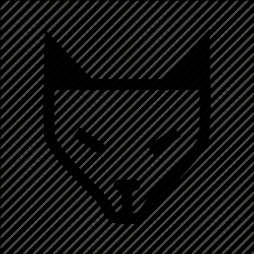 Animal, Fox, Fox Head, Wild Animal, Wolf Icon