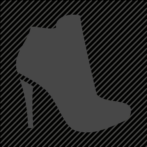 Heel, High, Shoes, Shop, Shopping, Women Icon