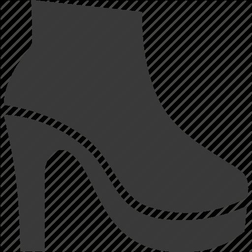 Clothes, Clothing, Footwear, Heel, Shoe Icon