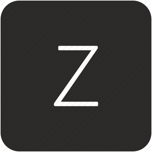 Key, Keyboard, Letter, Uppercase, Z Icon