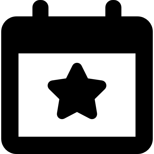 Election Event On A Calendar With Star Symbol