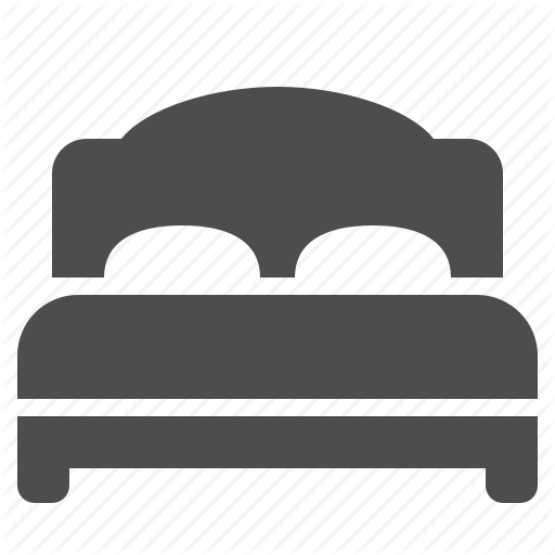 Bed, Bedroom, Home, Hotel, House, Real Estate, Room Icon