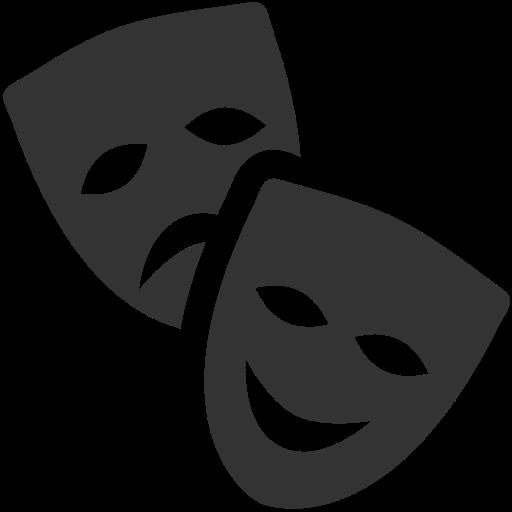 Mascaras Do Teatro, Teatr Livre De Windows Icon