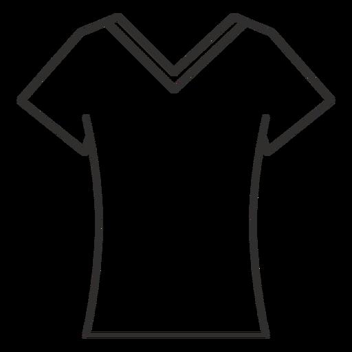 Scoop V De De T Shirt De