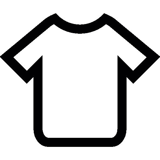 T Shirt Contorno Scaricare Icone Gratis