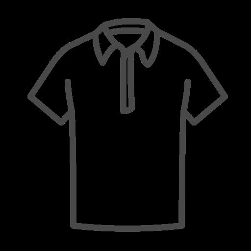 Colar, T Shirt Livre De Clothing Icons Stroke