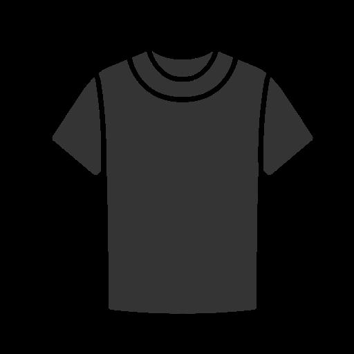 T Shirt Livre De Clothing Icons Black