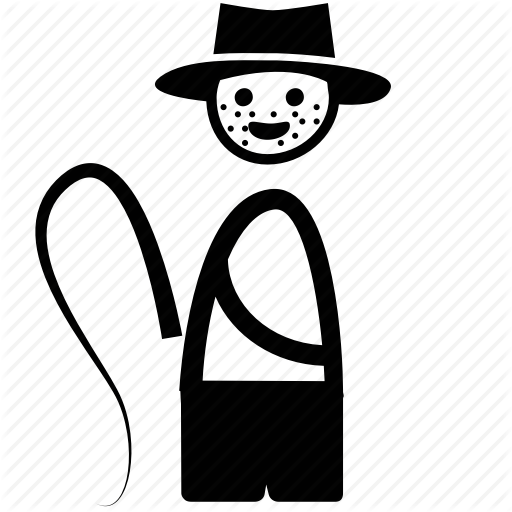 Adventurer, Iconic, Indiaja Jones, Indiana, Jones, Poeple, Whip Icon