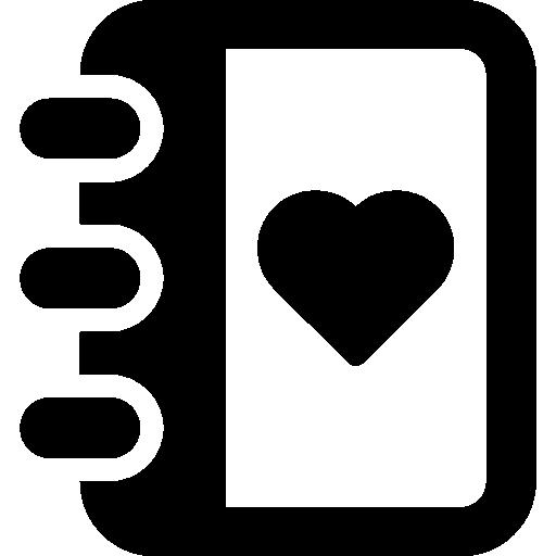 Valentines Agenda De Contactos Descargar Iconos Gratis