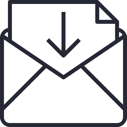 Icono De Correo Sobres, Descargar, Archivo, Documento
