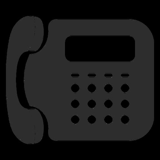 Icono De Telefono Fijo