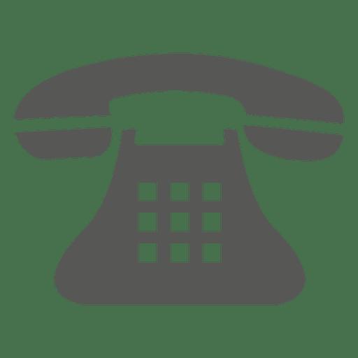 Icono De Telefono Vintage