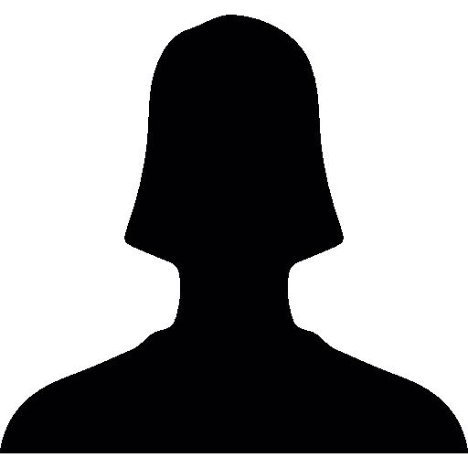 Usuario De Cerca Silueta Para Facebook Descargar Iconos Gratis