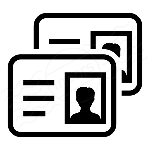 Iconexperience I Collection Id Cards Icon