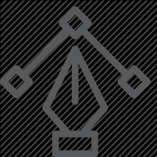 Anchor, Design, Draw, Illustrator, Pen, Shape, Tool, Vector Icon
