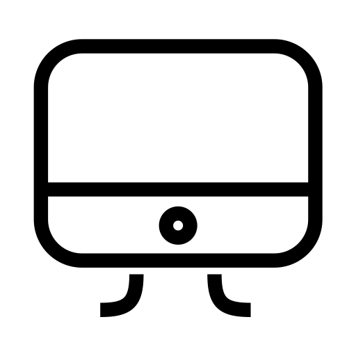 Imac, Fill, Linear Icon With Png And Vector Format For Free