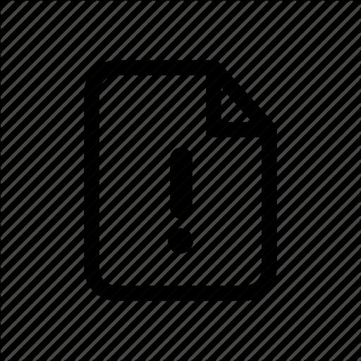 Image Error Icon