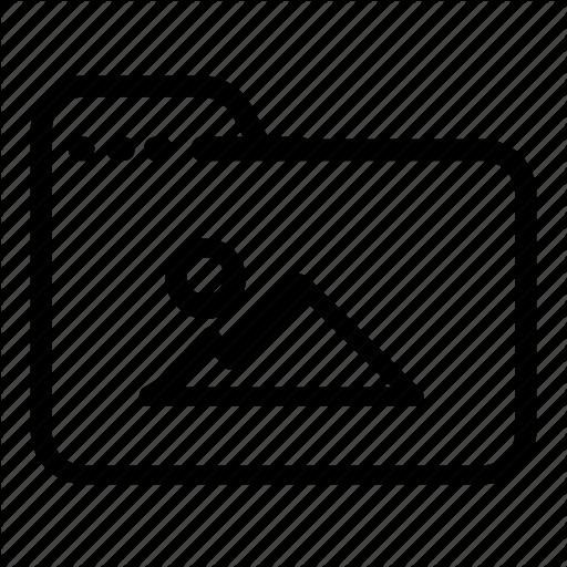 , Folder, Image Icon