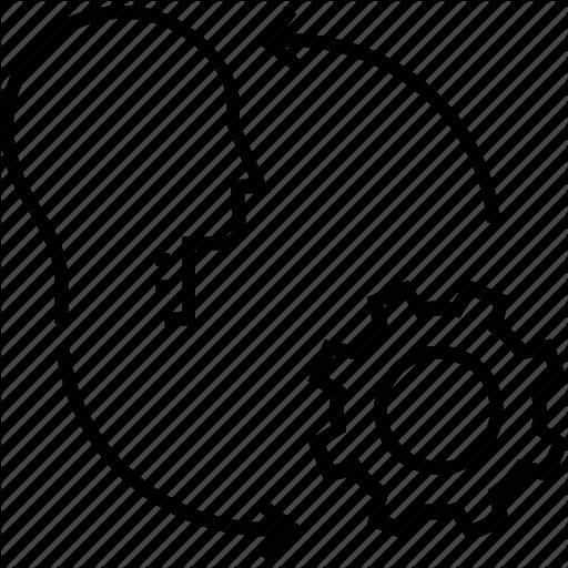 Cogwheel, Development, Gearwheel, Idea, Implementation Icon