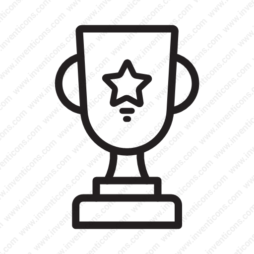 Download Award,winner,prize,winner,trophy Icon Inventicons