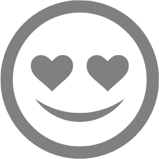 Gray In Love Icon