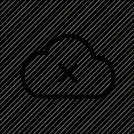 Cloud, Drive, Drive Full, Error, Google, Incomplete, Unsuccessful Icon