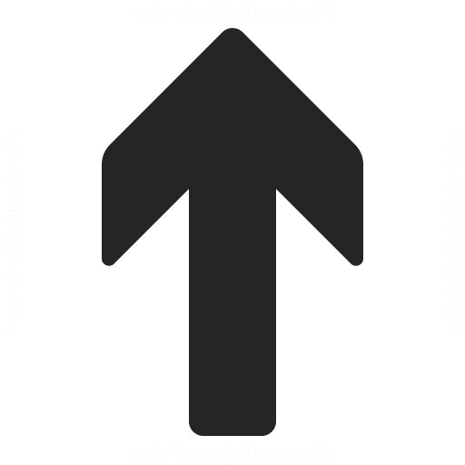 Arrow Up Icon Iconexperience