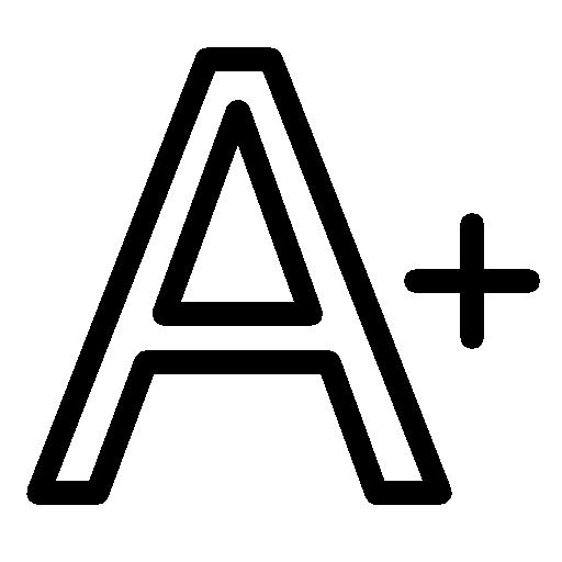 Editing Increase Font Icon Ios Iconset