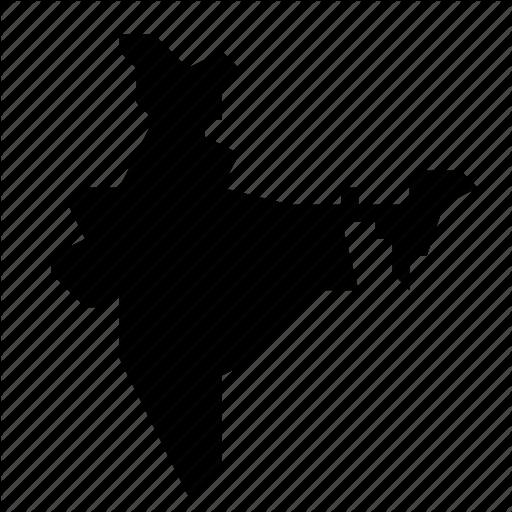 India, Map Icon
