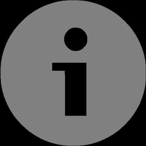 Gray Info Icon