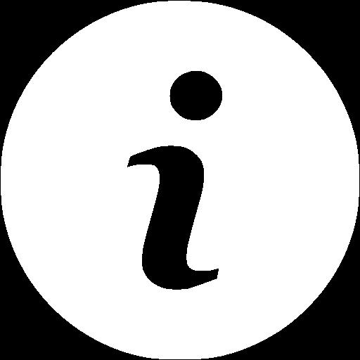 White Info Icon